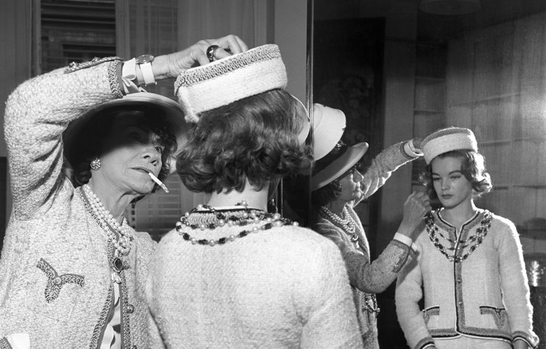 Romy Schneider And Coco Chanel